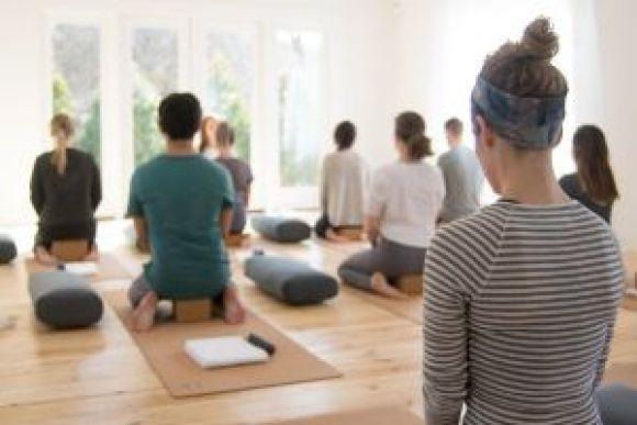 Ubivore Sisters Yoga Class