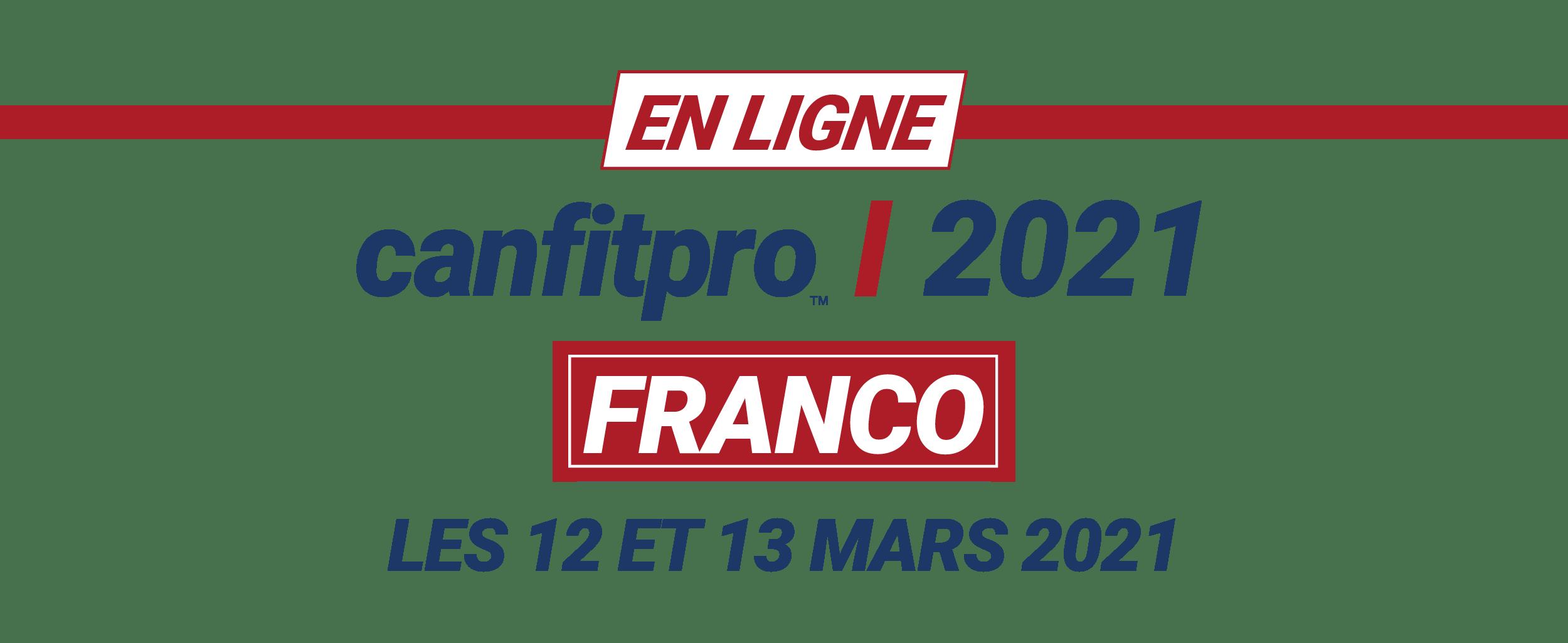 canfitpro 2021 online: franco logo
