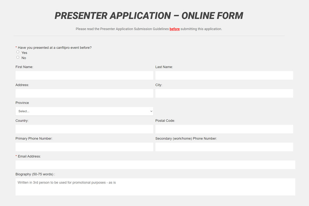 apply to present form screen capture