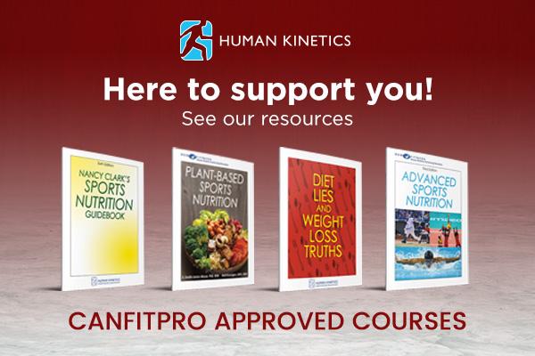 Human Kinetics Canada - Nutrition event ad