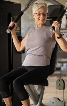 Matrix Fitness Canada workout