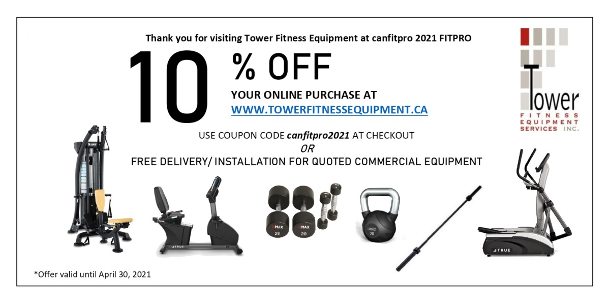 Tower Fitness Equipment Coupon