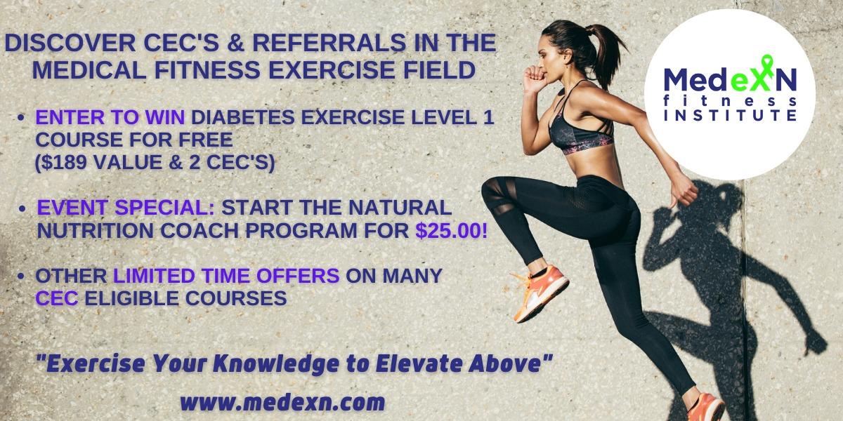MedeXN Fitness Institute coupon