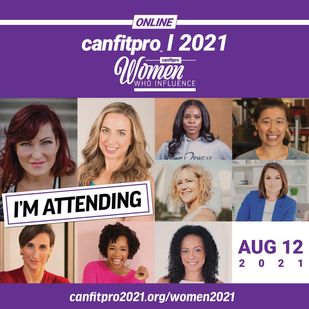 SOCIAL MEDIA TILE – JOIN ME - canfitpro 2021 Online: Women Who Influence