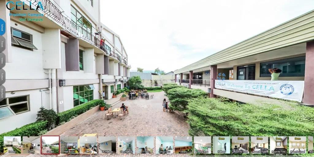 菲律賓Cella - 校園3D導覽