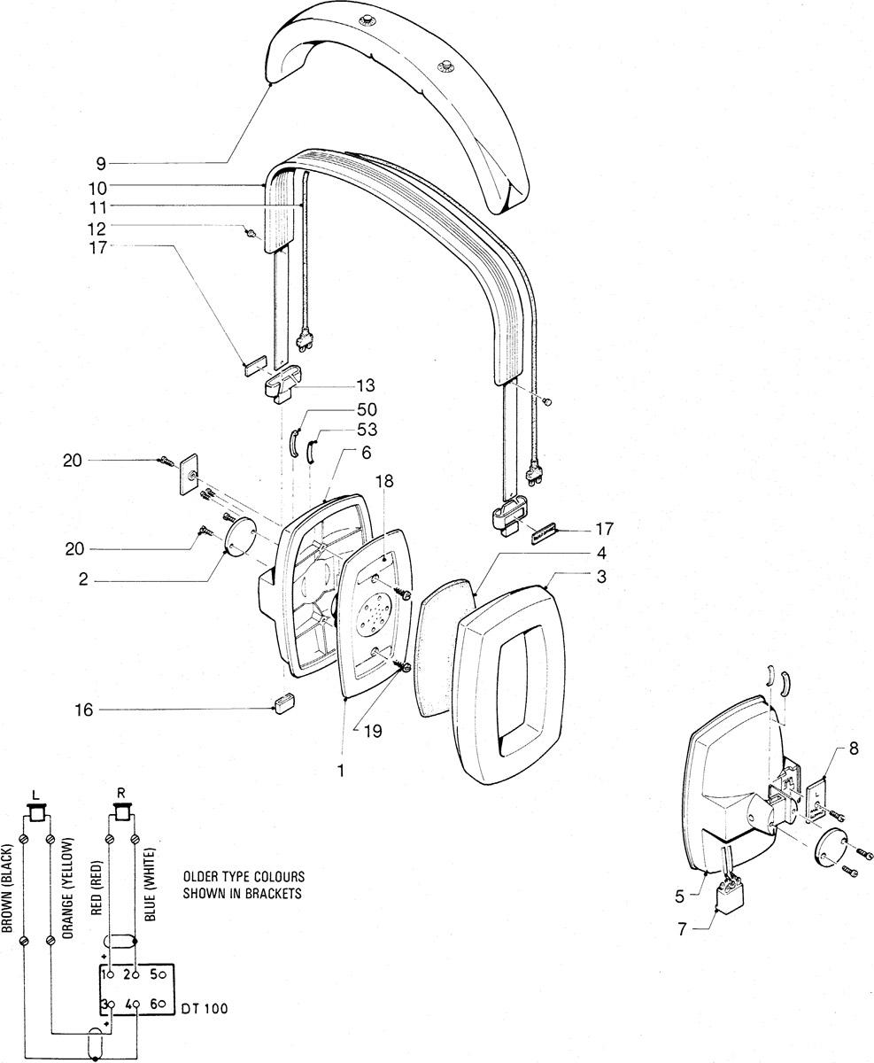 medium resolution of headphone parts diagram
