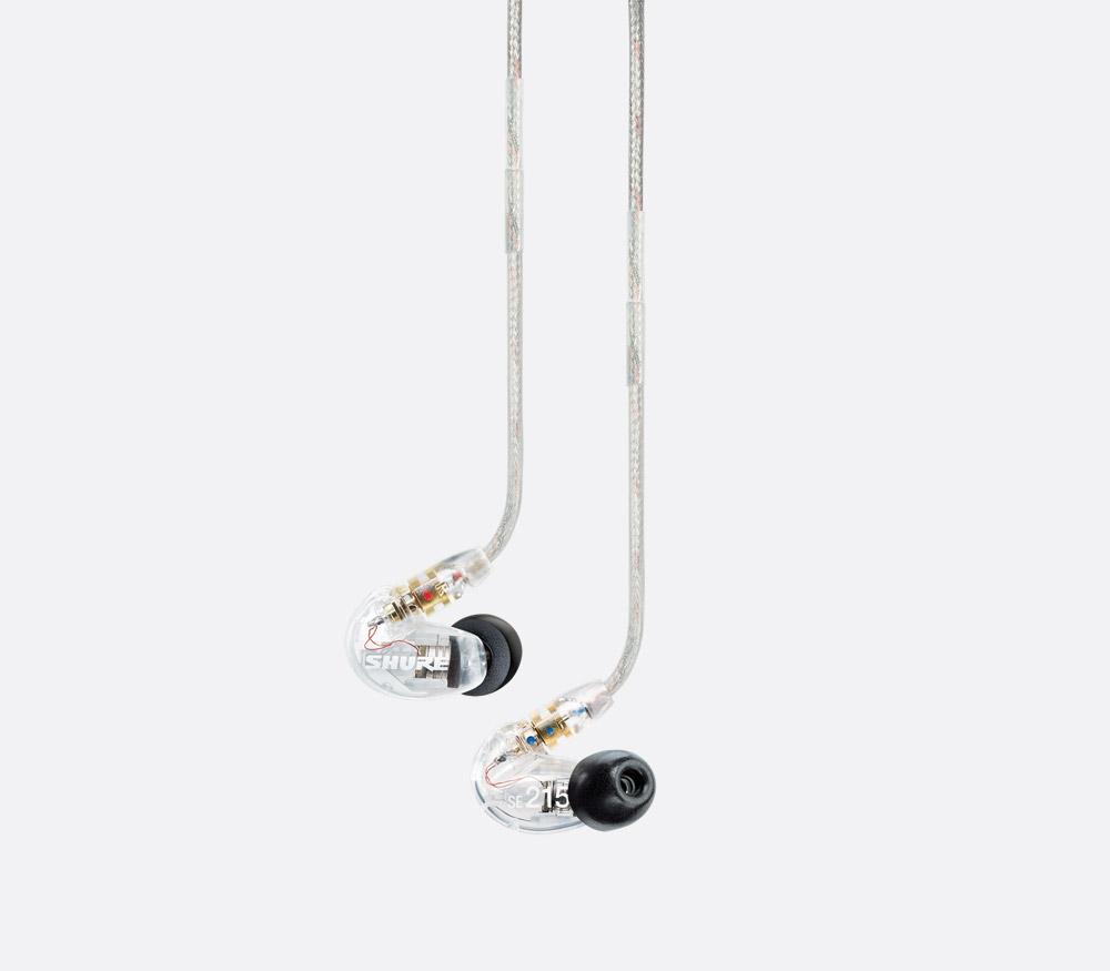 SHURE SE215 EARPHONES In-ear, single dynamic driver