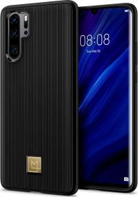 Spigen Manon Classy Case for Huawei P30 Pro - Black