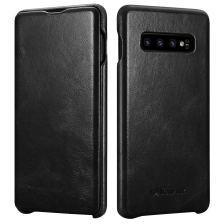 iCarer Vintage Case for Samsung Galaxy S10 Plus - Black