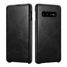 iCarer Vintage Case for Samsung Galaxy S10 - Black