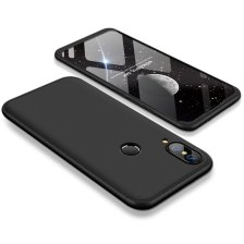 GKK 360 Protection Front and Back Case Full Body for Huawei P20 Lite - Black