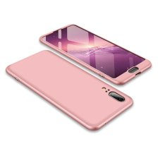 GKK 360 Protection Front and Back Case Full Body for Huawei P20 - Pink