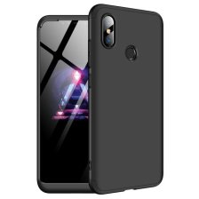 GKK 360 Protection Front and Back Case Full Body for Xiaomi mi8 - Black