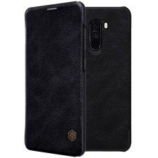 Nillkin Qin Leather Case for Xiaomi Pocophone F1 - Black