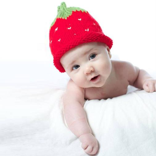 çiçekli bebek şapkası