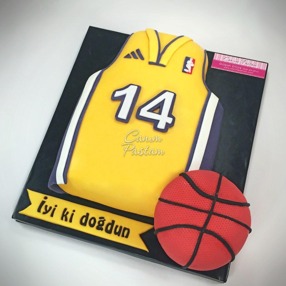 LA Lakers Cake