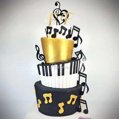 Musical Cake Music Cake Nota Cake Müzikal Pasta Piano Cake Piano Pasta