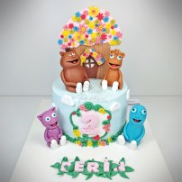 Cuddlies Cake Baby Tv Cake