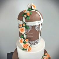 Kuş Kafesi Pastası Bird Cage Cake