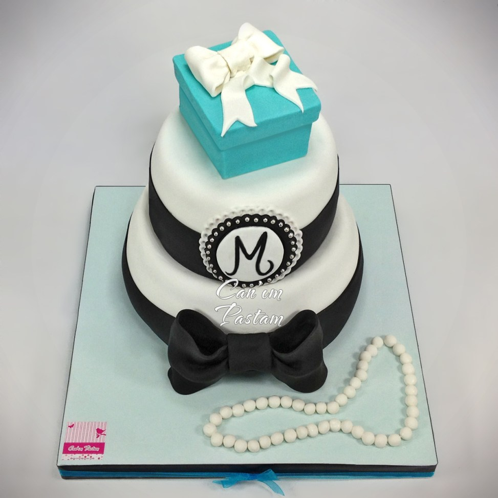 Tiffany Cake Tiffany Gift Box Cake