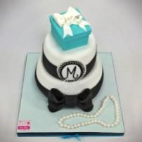Tiffany Cake Tiffany Gift Box Cake