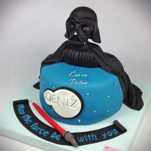 Starwars Cake Darth Vader Cake