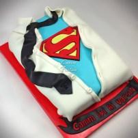 Superman Cake Superhero cake