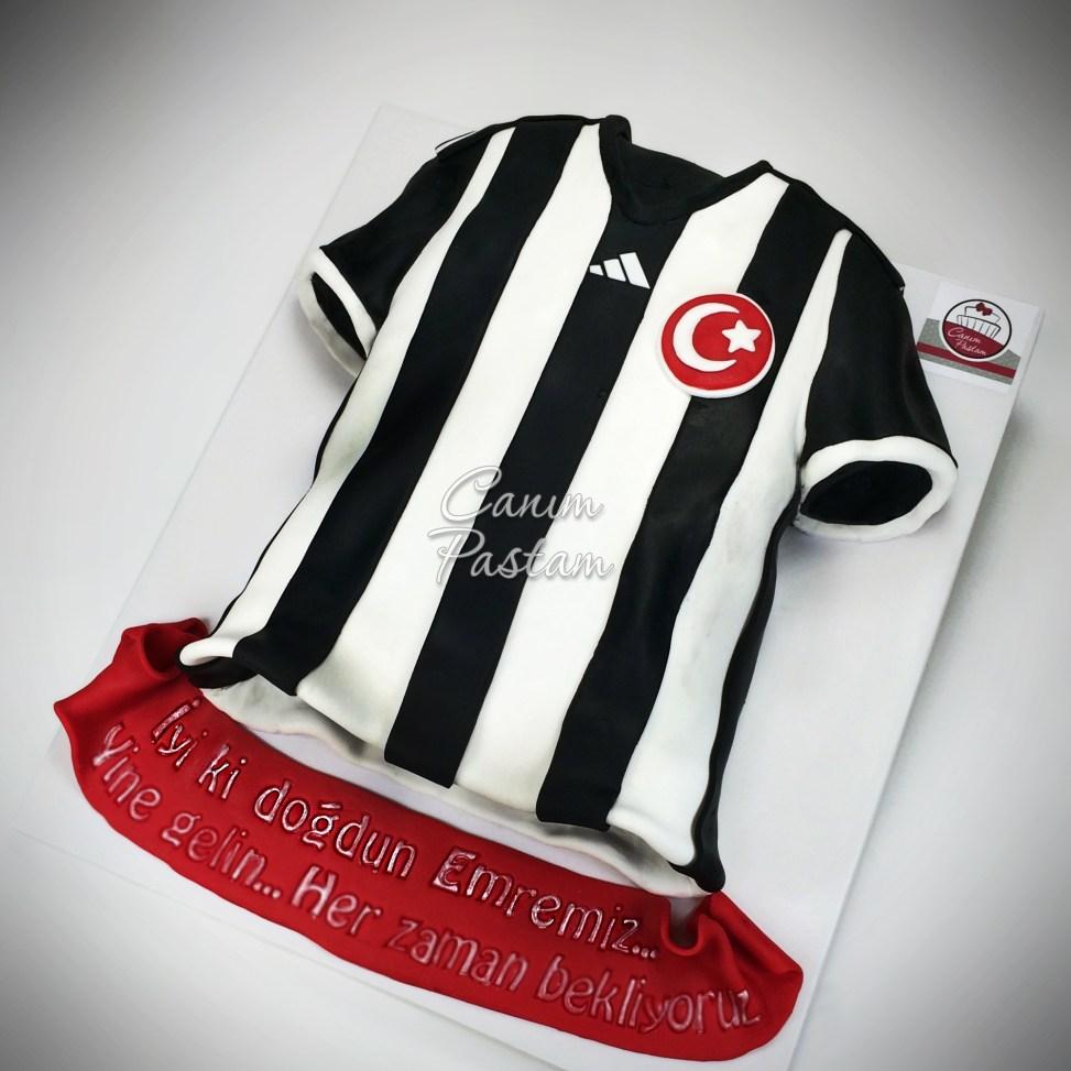 Football Cake BJK Pastası