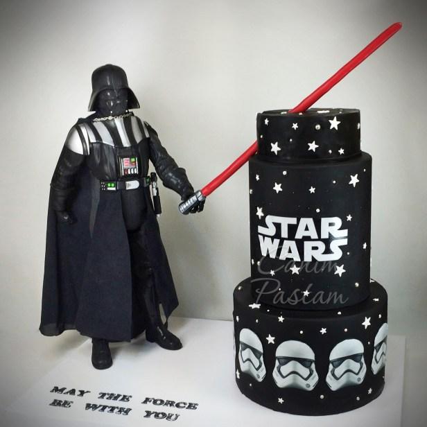 Star Wars Cake Darth Vader Cake Stormtropper Cake