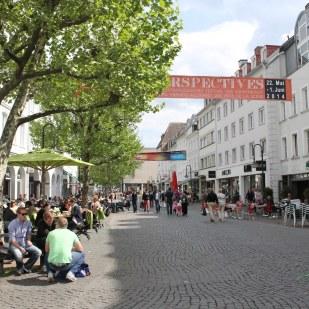 Cafe Seating in Saarbrücken, Germany