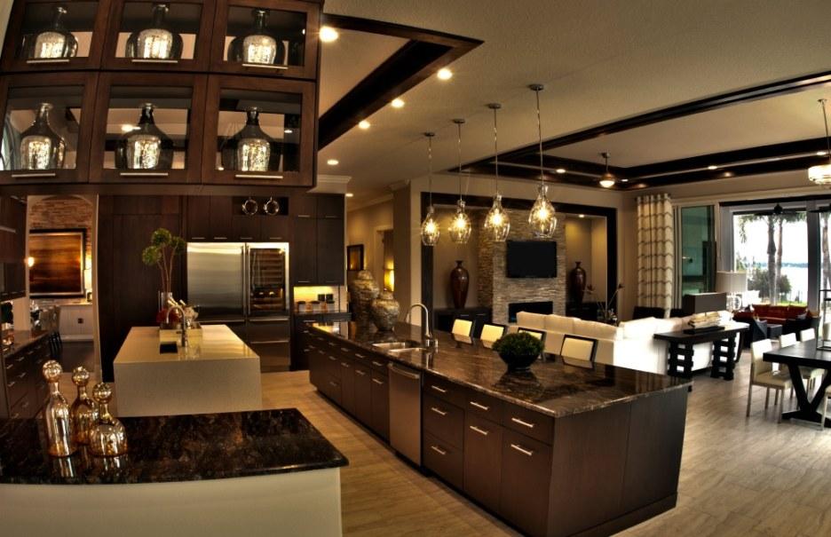 Palazzo Lago Custom Home - Kitchen 2