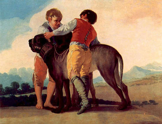 Boys With Bloodhounds