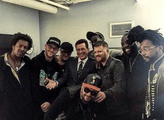 Colbert, Run the Jewels y TV on the Radio