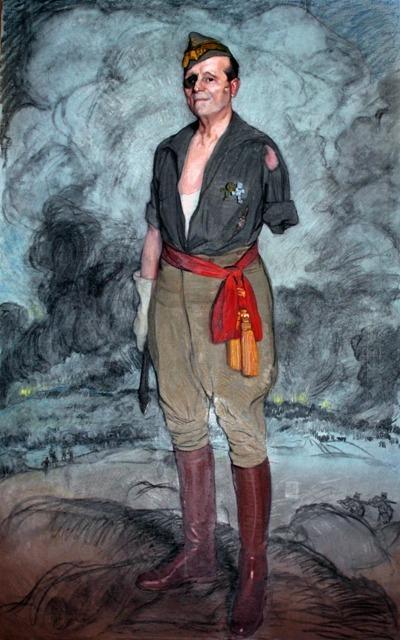 Millán Astray para 1942 (Museo de Ceuta) – Ignacio Zuloaga
