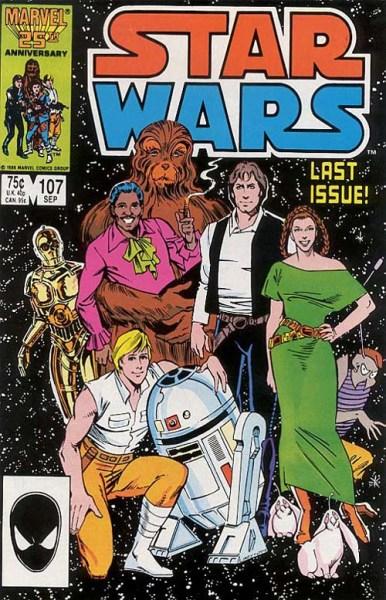 Star Wars 107 Marvel Comics Canino