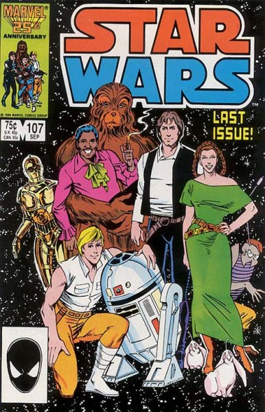 Star Wars 107 Marvel Comics Canino