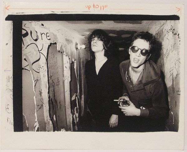 David Johansen y Richard Hell.