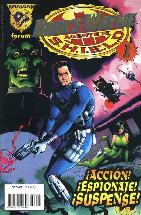 Amalgam - Bruce Wayne Agente de SHIELD