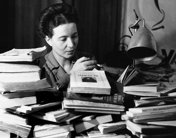 Amor Segundo Filósofos: Simone De Beauvoir, El Amor De Una Filósofa Feminista