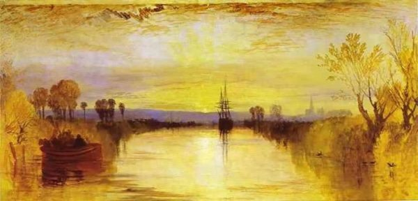 Chichester Canal (1828) de Turner