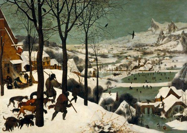 Pieter_Bruegel_the_Elder_-_Cazadoes en la nieve