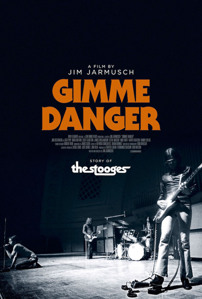 Portada del documental Gimme Danger