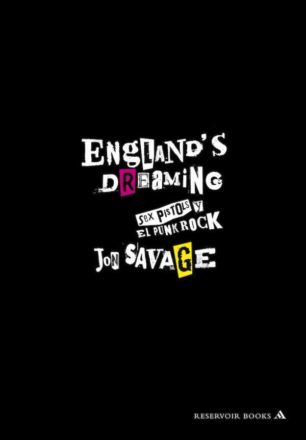 Portada de 'England's Dreaming'