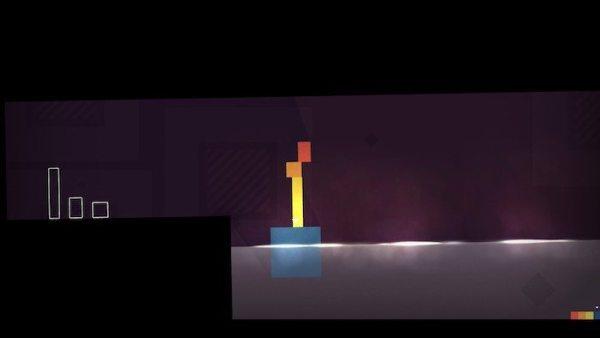 Imagen del videojuego Thomas Was Alone