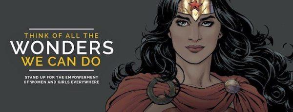 Campaña por el nombramiento de Wonder Woman como Embajadora de Honor de la ONU