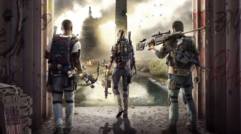 The Division 2 title screen