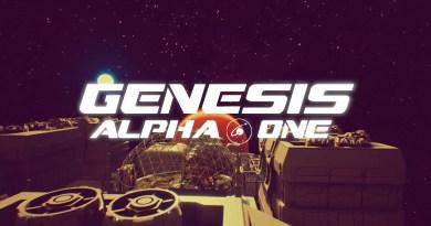 Genesis Alpha One title screen