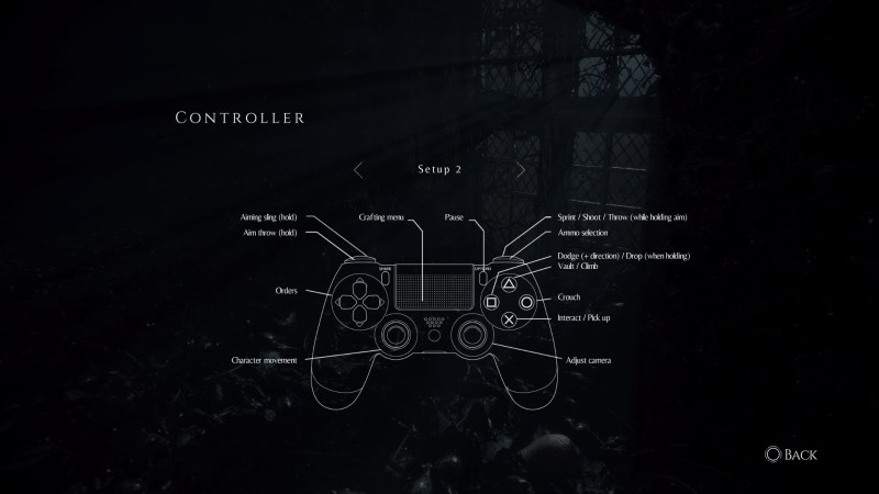 Controller layout 2