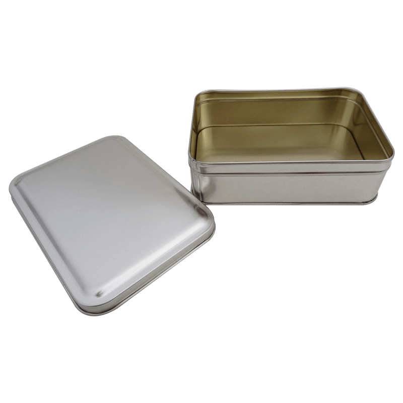 Cr21A 165x113x50-Custom Rectangular Tin Box