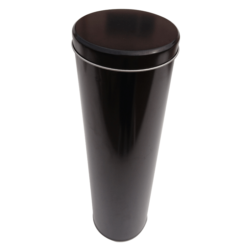Cr12S 87x315 Custom Wine Round Tin Box